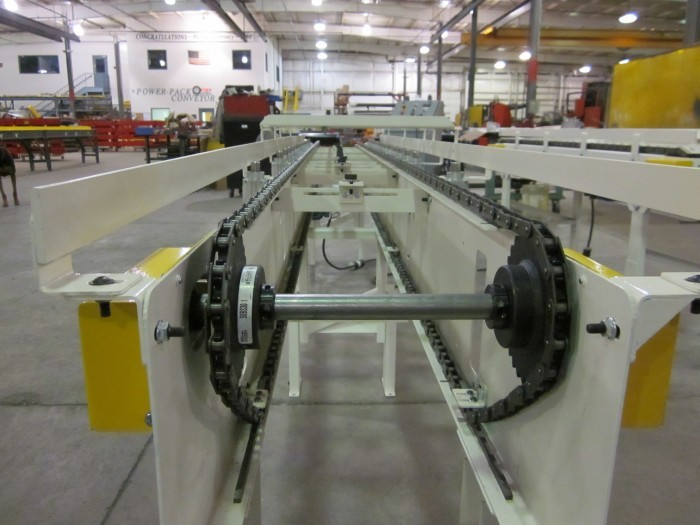 Dual Strand Horizontal Chain Conveyor